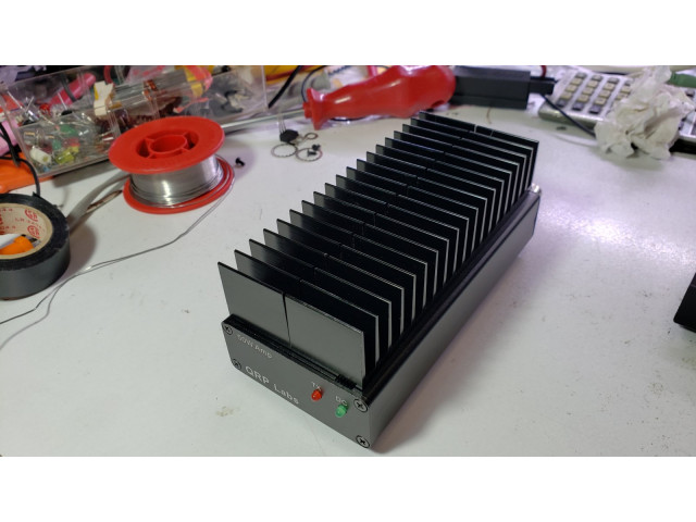 50W QCX PA kit enclosure