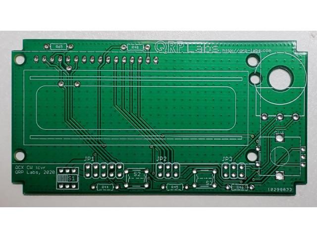QCX+ Front PCB