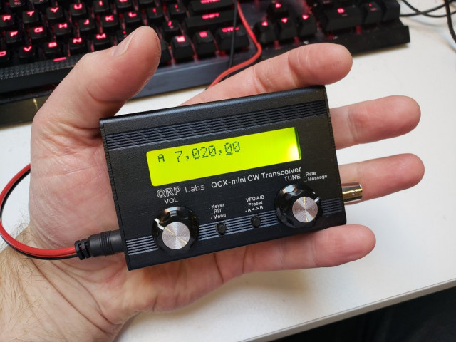 QCX-mini 5W CW transceiver